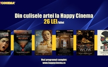 Maraton cultural la Happy Cinema București